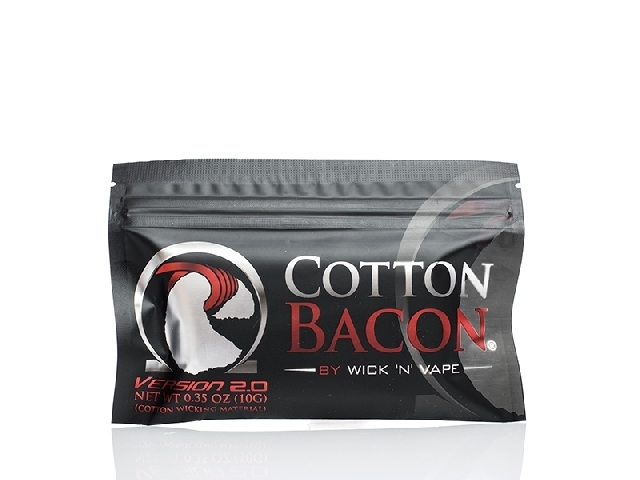 Cotton BACON  VERSION 2 BY WICK 'N' VAPE
