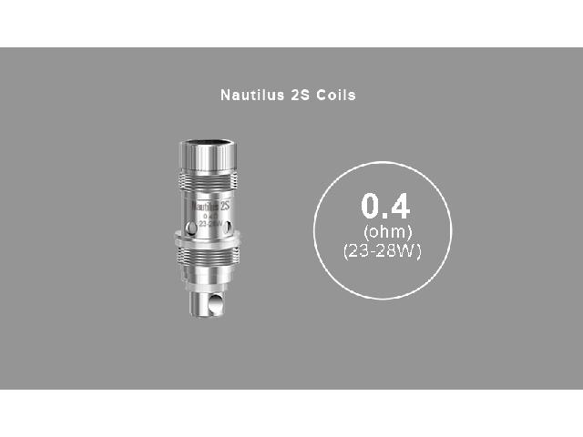 Aspire Nautilus BVC Coil – 0,4 Ohm (23-28W)