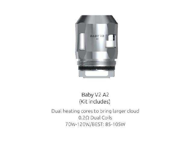 Smok Mini V2 Coil – A2 0,2 Ohm (70-120W)