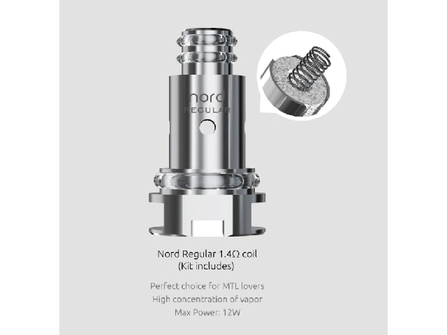 Smok Nord Coil – Nord 1,4 Ohm Regular Coil
