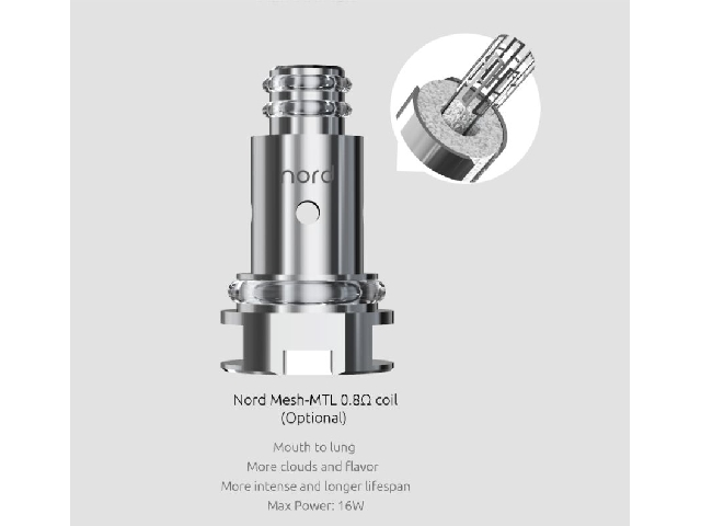 Smok Nord Coil – Nord MTL 0,8 Ohm