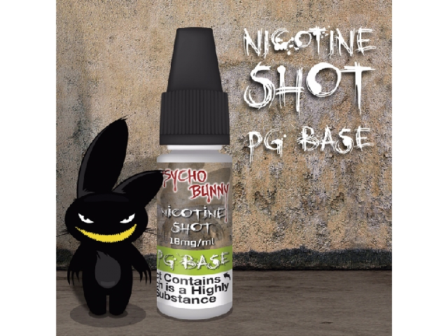NIC SHOTS – 18mg Nicotine Shot (PG Base)