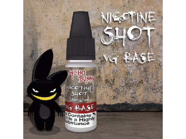 18mg Nicotine Shot (VG Base)