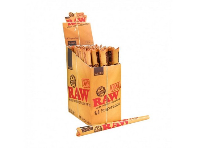 RAW Emperador Cone – 9″ Long (1PCS)
