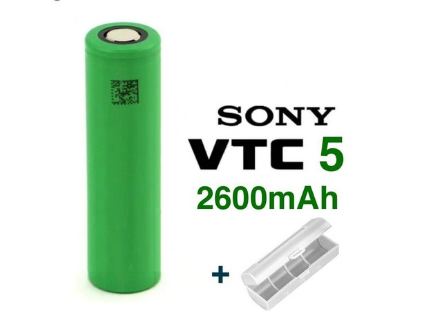 Battery 18650 Sony Murata VTC5 2600mAh 20A