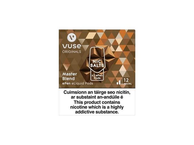 VUSE EPen 3 Cartridges – Master Blend, 12mg