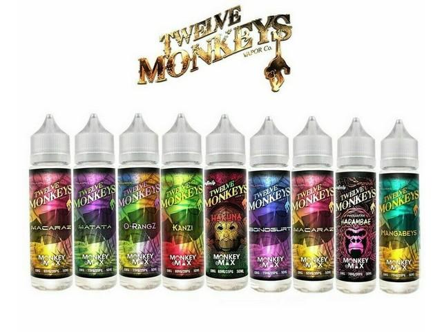 Twelve Monkeys Mix 50ml